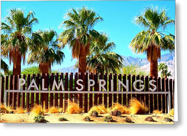 Palm Springs 1 Greeting Card