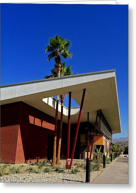Palm Springs Animal Shelter Greeting Card by Randall Weidner