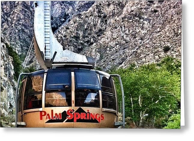 Palm Springs Tram 2 Greeting Card