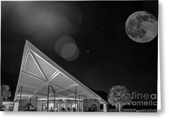 Palm Springs Visitor Center Greeting Card by Art K