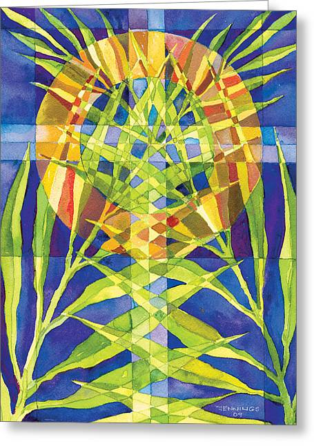 Palm Sunday Greeting Card by Mark Jennings