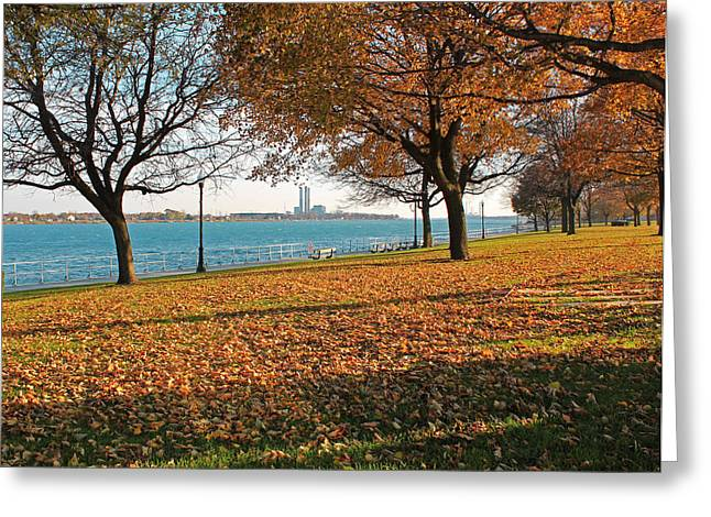 Palmer Park In The Fall Greeting Card