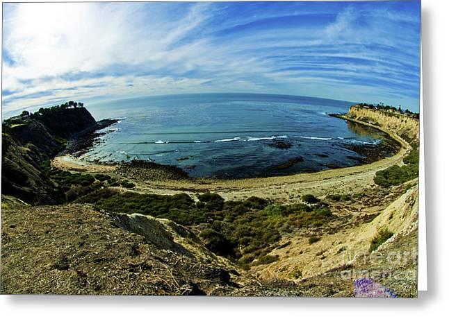 Palos Verdes California  Greeting Card by Micah May