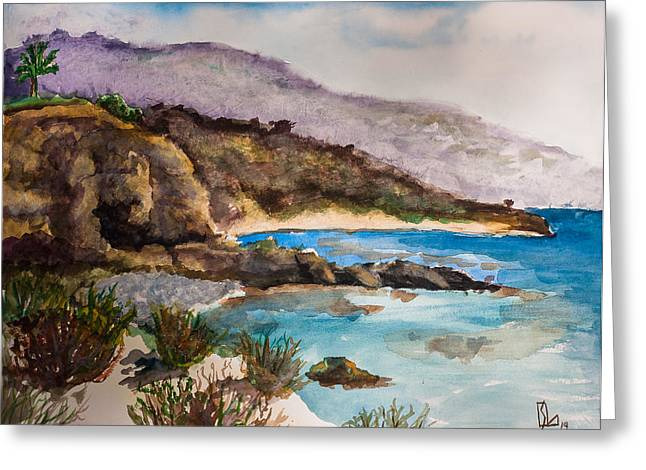 Palos Verdes Peninsula Greeting Card