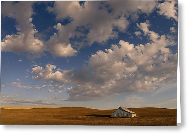 Palouse Serenity Greeting Card