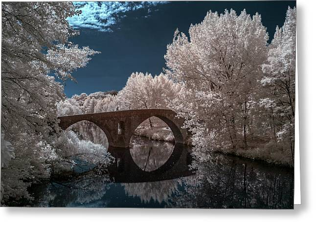 Pamplona Infrared Greeting Card