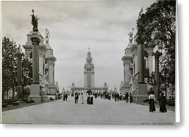 Pan-am Expo, 1901 The Triumphal Greeting Card