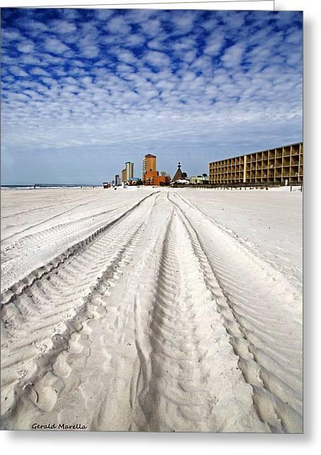 Panama City Beach Florida Greeting Card by Gerald Marella