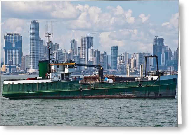 Panama Cityscape Greeting Card