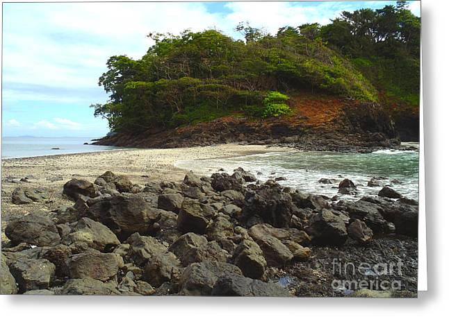 Panama Island Greeting Card