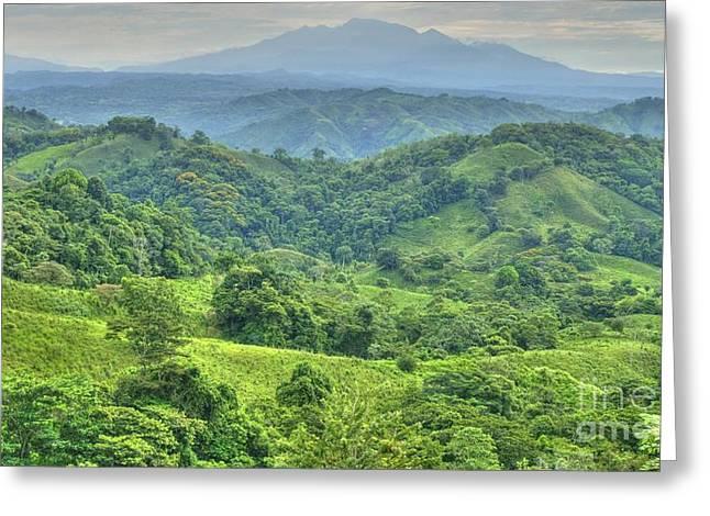 Panama Landscape Greeting Card