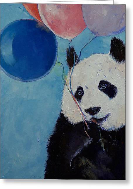 Panda Party Greeting Card