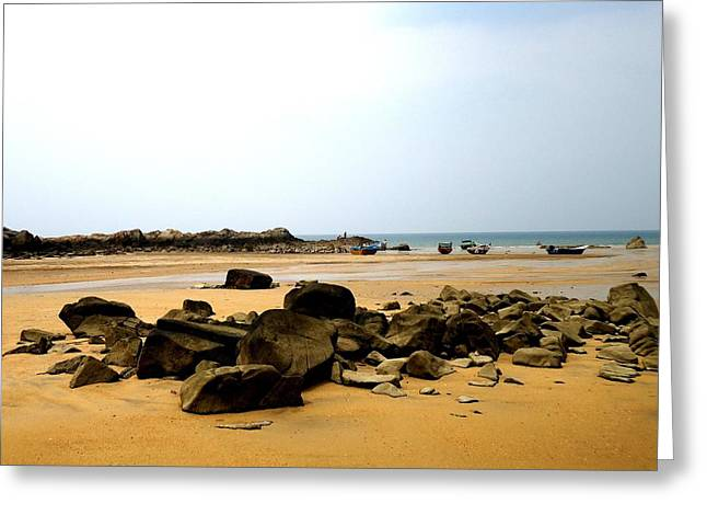 Pandan Beach Greeting Card
