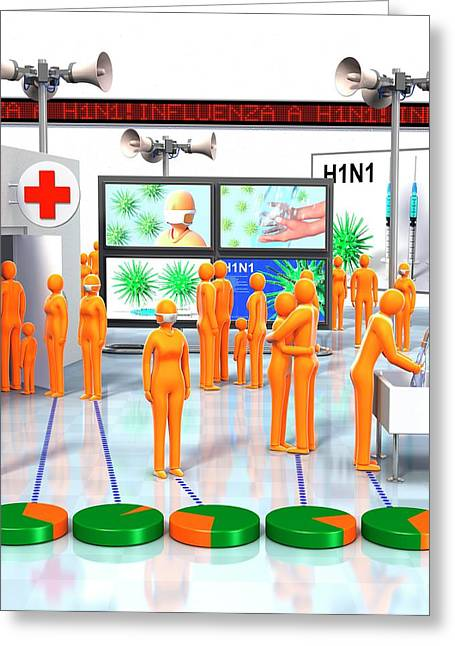 Pandemic Response Greeting Card by Animated Healthcare Ltd