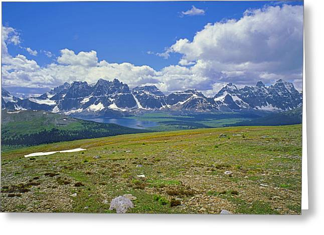 1m3849-panorama Of The Ramparts Greeting Card by Ed  Cooper Photography
