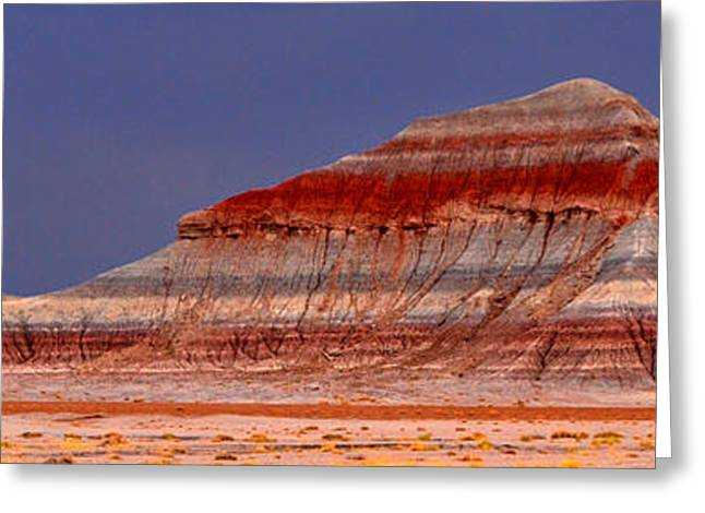 Panorama - Painted Desert 004 Greeting Card by George Bostian