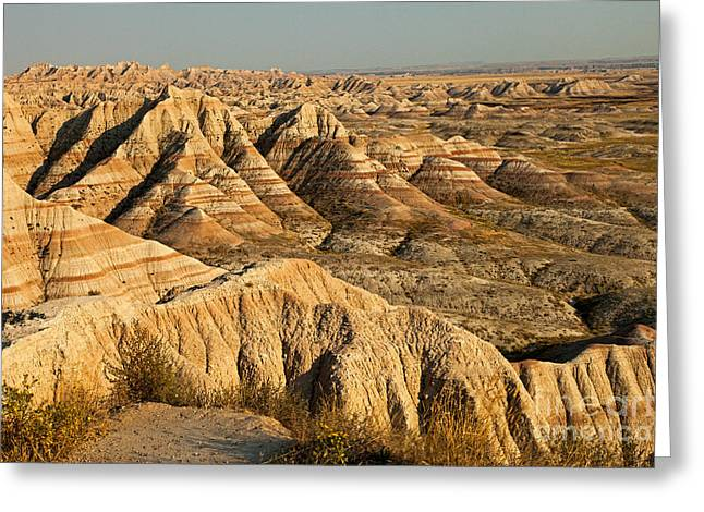Panorama Point Badlands National Park Greeting Card