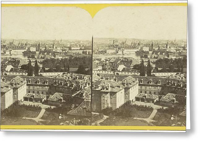 Panorama To The Midi, Charles Gerard Greeting Card