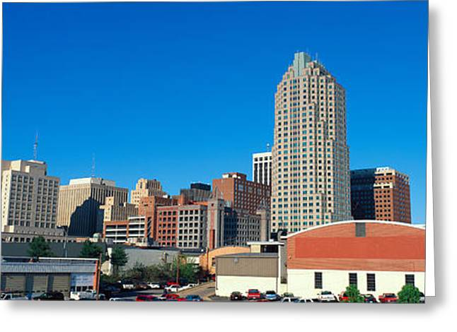 Panoramic View Of Memphis Tennessee Greeting Card by Panoramic Images
