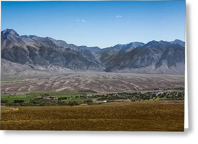 Panoramic Of Mackay Greeting Card