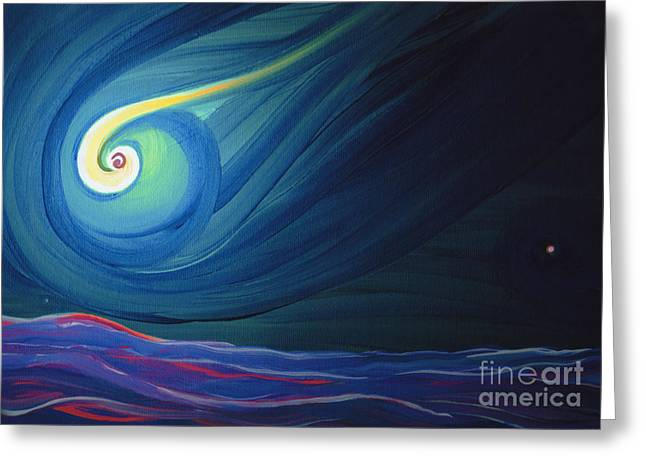 Panspermia 3 Greeting Card by First Star Art