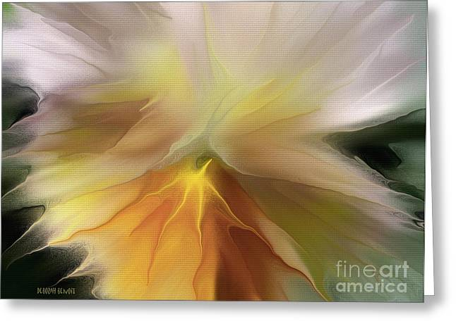 Pansy Art Greeting Card