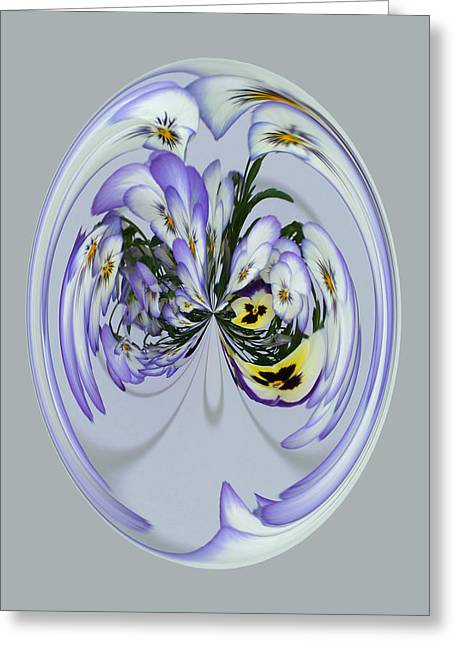 Pansy Series 501 Greeting Card