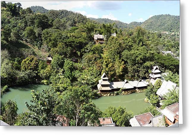 Panviman Chiang Mai Spa And Resort - Chiang Mai Thailand - 01131 Greeting Card by DC Photographer