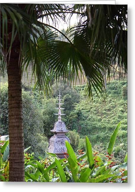 Panviman Chiang Mai Spa And Resort - Chiang Mai Thailand - 011319 Greeting Card by DC Photographer