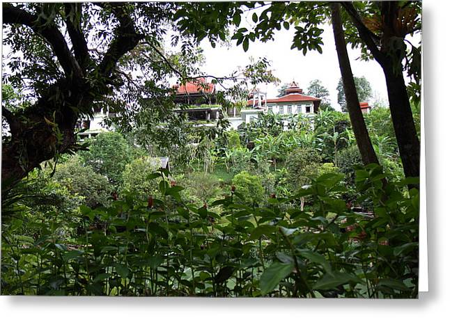 Panviman Chiang Mai Spa And Resort - Chiang Mai Thailand - 011355 Greeting Card by DC Photographer