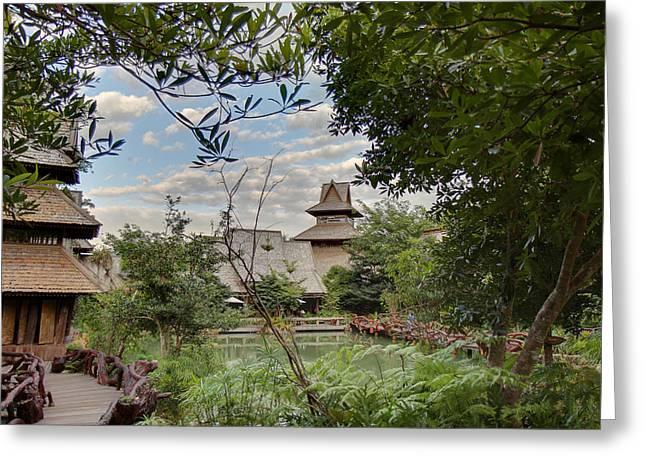 Panviman Chiang Mai Spa And Resort - Chiang Mai Thailand - 011358 Greeting Card by DC Photographer