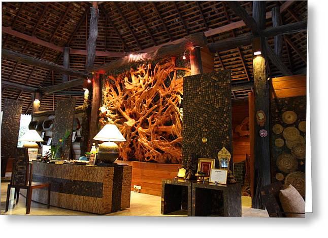 Panviman Chiang Mai Spa And Resort - Chiang Mai Thailand - 011359 Greeting Card by DC Photographer
