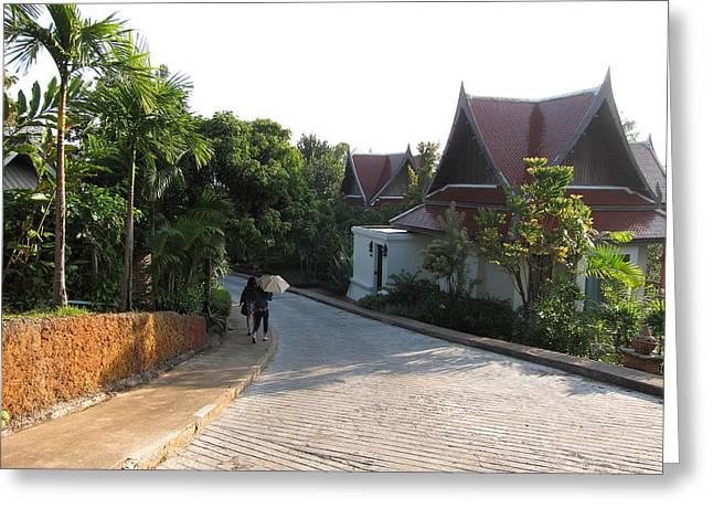 Panviman Chiang Mai Spa And Resort - Chiang Mai Thailand - 011379 Greeting Card by DC Photographer