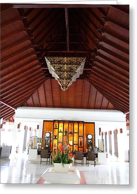 Panviman Chiang Mai Spa And Resort - Chiang Mai Thailand - 01138 Greeting Card by DC Photographer