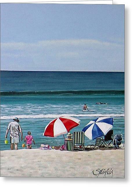Papamoa Beach 150208 Greeting Card
