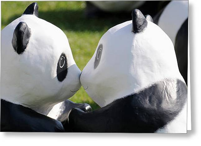 Paper Made Pandas From World Wildlife Greeting Card
