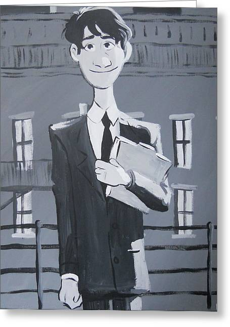 Paperman #1 Greeting Card