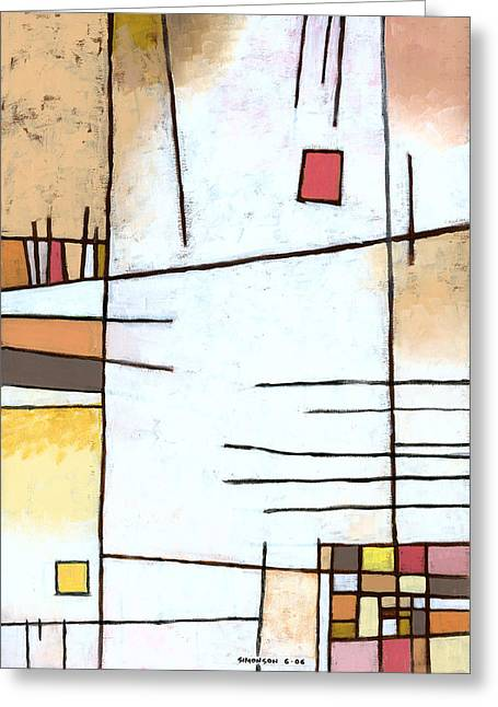 Paprika Greeting Card by Douglas Simonson