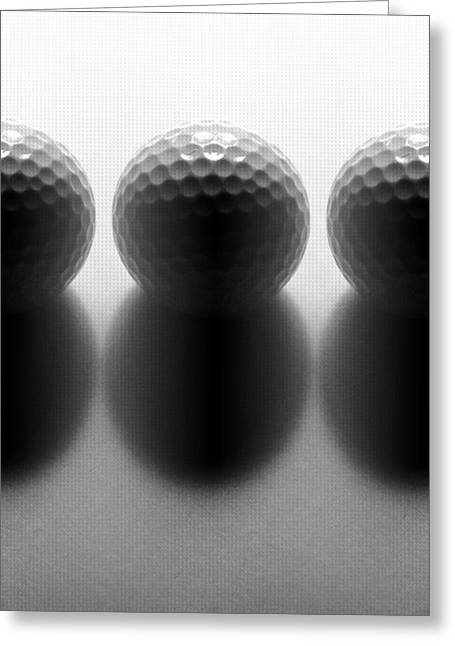 Par 3...golf Greeting Card