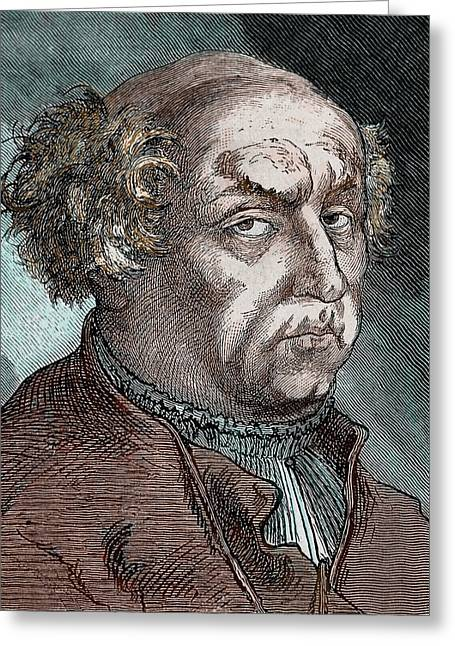 Paracelsus (theophrastus Philippus Greeting Card by Prisma Archivo