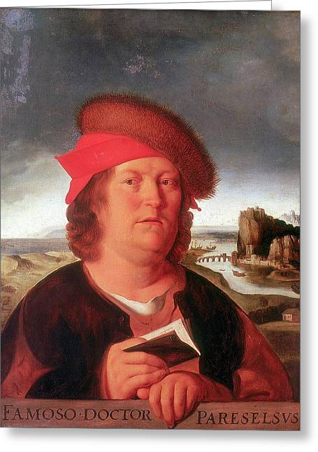 Paracelsus Greeting Card by Universal History Archive/uig