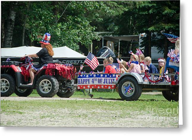 Parade 3 Greeting Card by Cassie Marie Photography