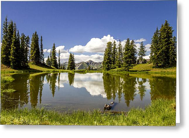 Paradise Divide Above Crested Butte Co Greeting Card