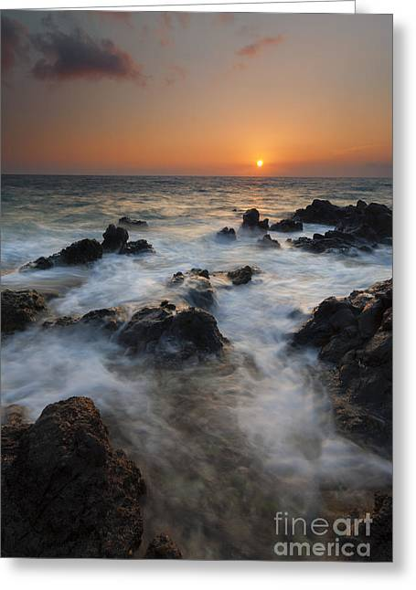 Paradise Flow Greeting Card by Mike  Dawson