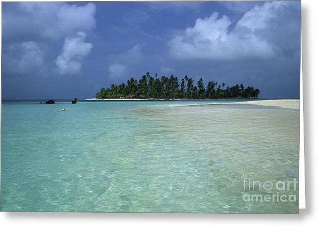 Paradise Island 1 Greeting Card