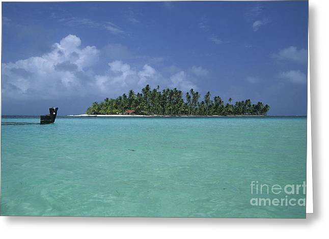 Paradise Island 2 Greeting Card