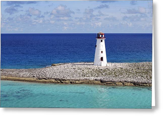 Paradise Lighthouse Greeting Card