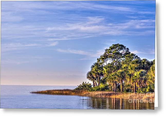 Paradise On The Gulf Greeting Card