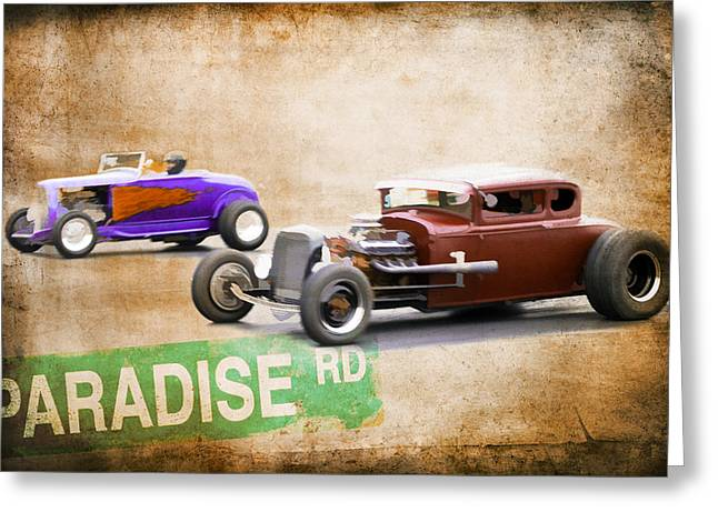 Paradise Road Greeting Card by Steve McKinzie