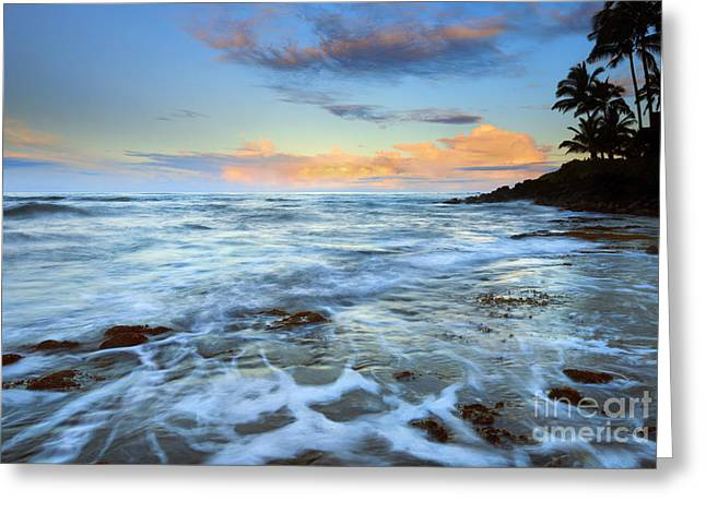 Paradise Sunrise Greeting Card